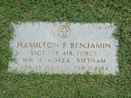 BENJAMIN (VETERAN 3 WARS), HAMILTON F - Pulaski County, Arkansas | HAMILTON F BENJAMIN (VETERAN 3 WARS) - Arkansas Gravestone Photos