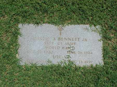 BENNETT, JR (VETERAN WWII), OAKLEY ADAIR - Pulaski County, Arkansas | OAKLEY ADAIR BENNETT, JR (VETERAN WWII) - Arkansas Gravestone Photos