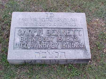 BENNETT, SARAH - Pulaski County, Arkansas | SARAH BENNETT - Arkansas Gravestone Photos