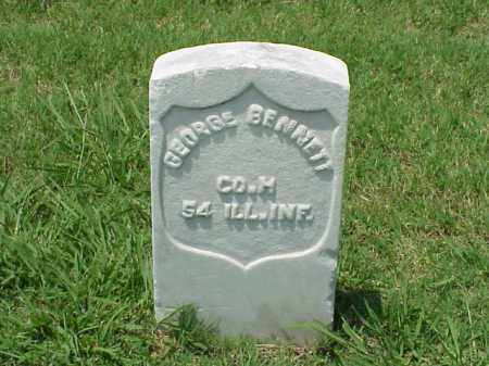 BENNETT (VETERAN UNION), GEORGE - Pulaski County, Arkansas | GEORGE BENNETT (VETERAN UNION) - Arkansas Gravestone Photos