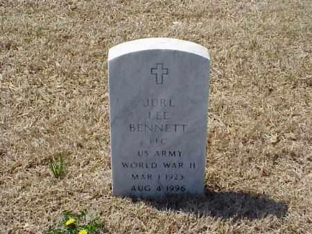 BENNETT (VETERAN WWII), JURL LEE - Pulaski County, Arkansas | JURL LEE BENNETT (VETERAN WWII) - Arkansas Gravestone Photos