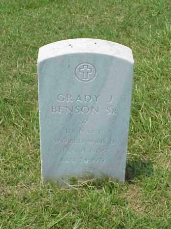 BENSON, SR (VETERAN WWII), GRADY J - Pulaski County, Arkansas | GRADY J BENSON, SR (VETERAN WWII) - Arkansas Gravestone Photos