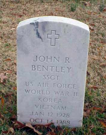 BENTLEY (VETERAN 3 WARS), JOHN R - Pulaski County, Arkansas | JOHN R BENTLEY (VETERAN 3 WARS) - Arkansas Gravestone Photos