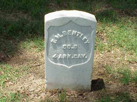 BENTLEY (VETERAN UNION), F M - Pulaski County, Arkansas | F M BENTLEY (VETERAN UNION) - Arkansas Gravestone Photos