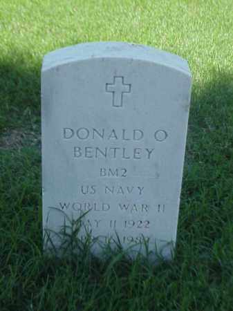 BENTLEY (VETERAN WWII), DONALD O - Pulaski County, Arkansas | DONALD O BENTLEY (VETERAN WWII) - Arkansas Gravestone Photos