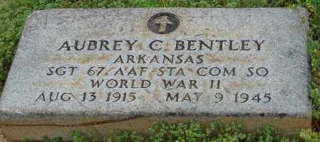 BENTLEY(VETERAN WWII), AUBREY C - Pulaski County, Arkansas | AUBREY C BENTLEY(VETERAN WWII) - Arkansas Gravestone Photos