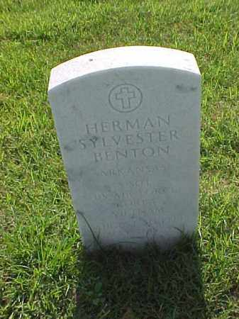 BENTON (VETERAN 2 WARS), HERMAN SYLVESTER - Pulaski County, Arkansas | HERMAN SYLVESTER BENTON (VETERAN 2 WARS) - Arkansas Gravestone Photos