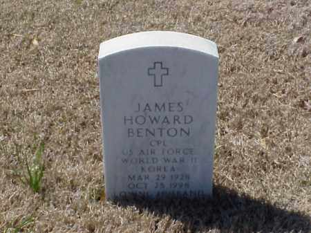 BENTON (VETERAN 2 WARS), JAMES HOWARD - Pulaski County, Arkansas | JAMES HOWARD BENTON (VETERAN 2 WARS) - Arkansas Gravestone Photos
