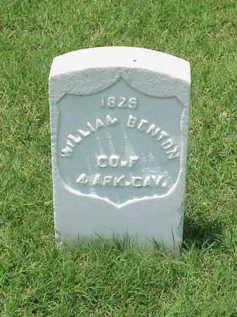 BENTON (VETERAN UNION), WILLIAM - Pulaski County, Arkansas | WILLIAM BENTON (VETERAN UNION) - Arkansas Gravestone Photos