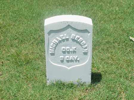 BERGAN (VETERAN UNION), MICHAEL - Pulaski County, Arkansas   MICHAEL BERGAN (VETERAN UNION) - Arkansas Gravestone Photos