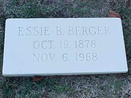 BERGER, ELLIE B - Pulaski County, Arkansas | ELLIE B BERGER - Arkansas Gravestone Photos