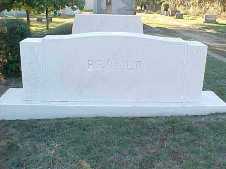BERGER FAMILY STONE,  - Pulaski County, Arkansas |  BERGER FAMILY STONE - Arkansas Gravestone Photos
