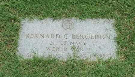 BERGERON (VETERAN WWII), BERNARD C - Pulaski County, Arkansas | BERNARD C BERGERON (VETERAN WWII) - Arkansas Gravestone Photos