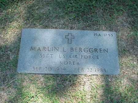 BERGGREN (VETERAN KOR), MARLIN L - Pulaski County, Arkansas | MARLIN L BERGGREN (VETERAN KOR) - Arkansas Gravestone Photos
