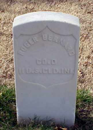 BERNARD (VETERAN UNION), ROGER - Pulaski County, Arkansas | ROGER BERNARD (VETERAN UNION) - Arkansas Gravestone Photos