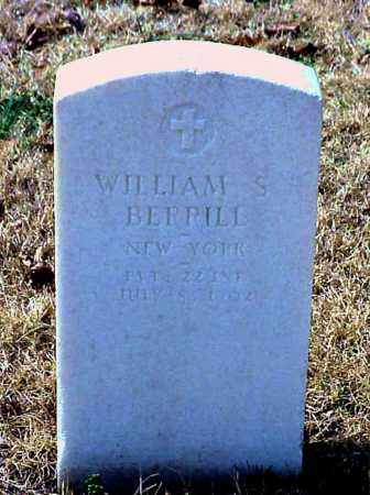 BERRILL (VETERAN), WILLIAM S - Pulaski County, Arkansas | WILLIAM S BERRILL (VETERAN) - Arkansas Gravestone Photos