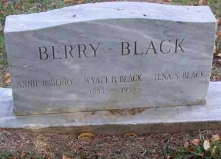 BLACK, WYATT B. - Pulaski County, Arkansas | WYATT B. BLACK - Arkansas Gravestone Photos