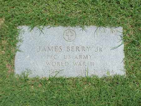 BERRY, JR (VETERAN WWII), JAMES - Pulaski County, Arkansas | JAMES BERRY, JR (VETERAN WWII) - Arkansas Gravestone Photos
