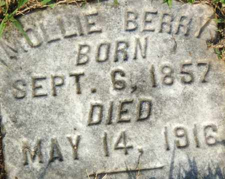 BERRY, MOLLIE - Pulaski County, Arkansas | MOLLIE BERRY - Arkansas Gravestone Photos