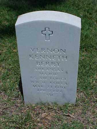 BERRY (VETERAN 2 WARS), VERNON KENNETH - Pulaski County, Arkansas | VERNON KENNETH BERRY (VETERAN 2 WARS) - Arkansas Gravestone Photos