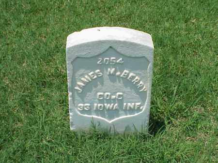 BERRY (VETERAN UNION), JAMES M - Pulaski County, Arkansas | JAMES M BERRY (VETERAN UNION) - Arkansas Gravestone Photos