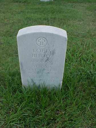 BERRY (VETERAN WWI), LOUIS - Pulaski County, Arkansas | LOUIS BERRY (VETERAN WWI) - Arkansas Gravestone Photos