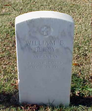 BERRY (VETERAN WWI), WILLIAM B - Pulaski County, Arkansas | WILLIAM B BERRY (VETERAN WWI) - Arkansas Gravestone Photos