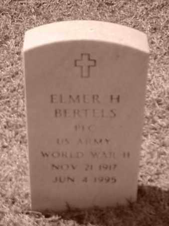 BERTELS (VETERAN WWII), ELMER H - Pulaski County, Arkansas | ELMER H BERTELS (VETERAN WWII) - Arkansas Gravestone Photos