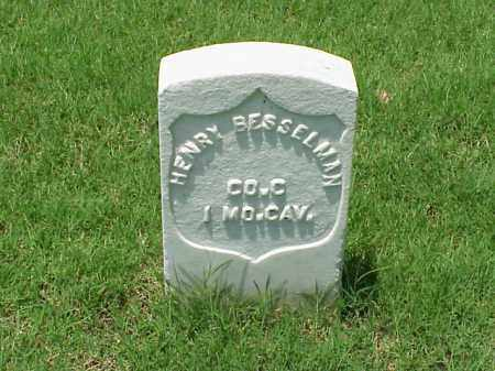 BESSELMAN (VETERAN UNION), HENRY - Pulaski County, Arkansas | HENRY BESSELMAN (VETERAN UNION) - Arkansas Gravestone Photos