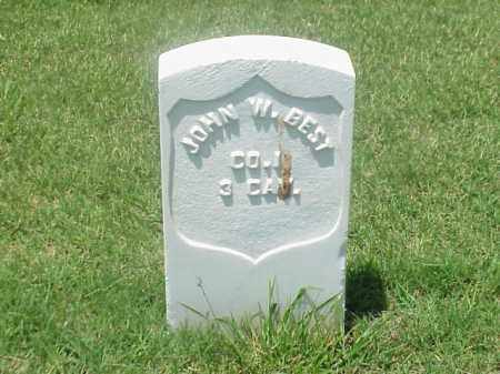 BEST (VETERAN UNION), JOHN W - Pulaski County, Arkansas | JOHN W BEST (VETERAN UNION) - Arkansas Gravestone Photos