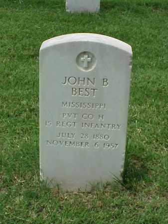 BEST (VETERAN), JOHN B - Pulaski County, Arkansas | JOHN B BEST (VETERAN) - Arkansas Gravestone Photos