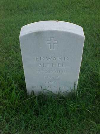 BETHEL (VETERAN WWII), EDWARD - Pulaski County, Arkansas | EDWARD BETHEL (VETERAN WWII) - Arkansas Gravestone Photos