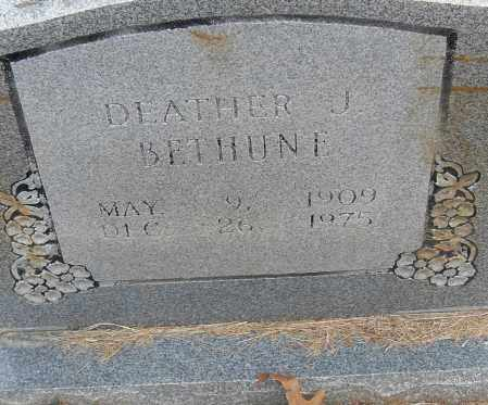 BETHUNE, DEATHER J - Pulaski County, Arkansas | DEATHER J BETHUNE - Arkansas Gravestone Photos