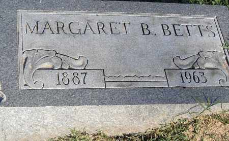 BETTS, MARGARET B - Pulaski County, Arkansas | MARGARET B BETTS - Arkansas Gravestone Photos