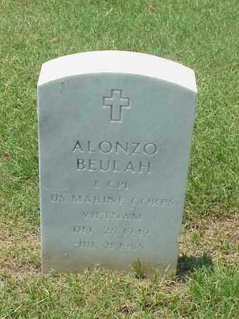BEULAH (VETERAN VIET), ALONZO - Pulaski County, Arkansas | ALONZO BEULAH (VETERAN VIET) - Arkansas Gravestone Photos