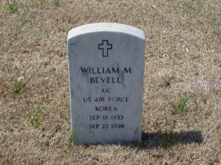 BEVELL (VETERAN KOR), WILLIAM M - Pulaski County, Arkansas | WILLIAM M BEVELL (VETERAN KOR) - Arkansas Gravestone Photos