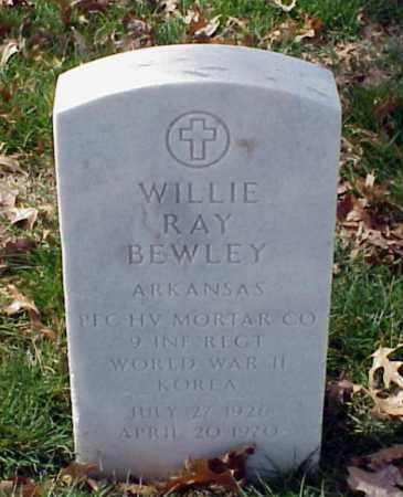 BEWLEY (VETERAN 2 WARS), WILLIE RAY - Pulaski County, Arkansas | WILLIE RAY BEWLEY (VETERAN 2 WARS) - Arkansas Gravestone Photos