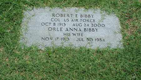 BIBBY (VETERAN WWII), ROBERT E - Pulaski County, Arkansas | ROBERT E BIBBY (VETERAN WWII) - Arkansas Gravestone Photos
