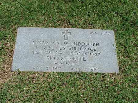 BIDDULPH (VETERAN), NORMAN W - Pulaski County, Arkansas | NORMAN W BIDDULPH (VETERAN) - Arkansas Gravestone Photos