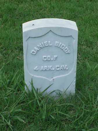 BIDDY (VETERAN UNION), DANIEL - Pulaski County, Arkansas | DANIEL BIDDY (VETERAN UNION) - Arkansas Gravestone Photos
