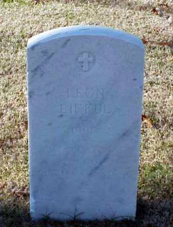 BIFFUL (VETERAN WWI), LEON - Pulaski County, Arkansas | LEON BIFFUL (VETERAN WWI) - Arkansas Gravestone Photos
