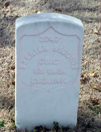 BIGGINS (VETERAN UNION), EZEKIEL - Pulaski County, Arkansas | EZEKIEL BIGGINS (VETERAN UNION) - Arkansas Gravestone Photos