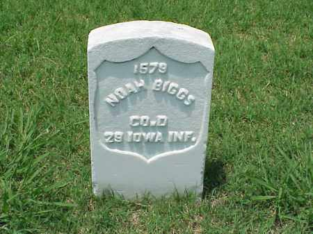 BIGGS (VETERAN UNION), NOAH - Pulaski County, Arkansas | NOAH BIGGS (VETERAN UNION) - Arkansas Gravestone Photos