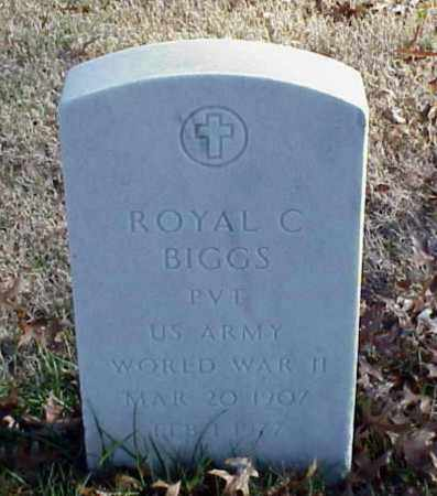 BIGGS (VETERAN WWII), ROYAL C - Pulaski County, Arkansas | ROYAL C BIGGS (VETERAN WWII) - Arkansas Gravestone Photos