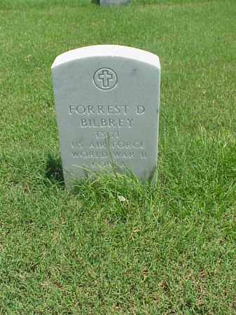 BILBREY (VETERAN 3 WARS), FORREST D - Pulaski County, Arkansas | FORREST D BILBREY (VETERAN 3 WARS) - Arkansas Gravestone Photos