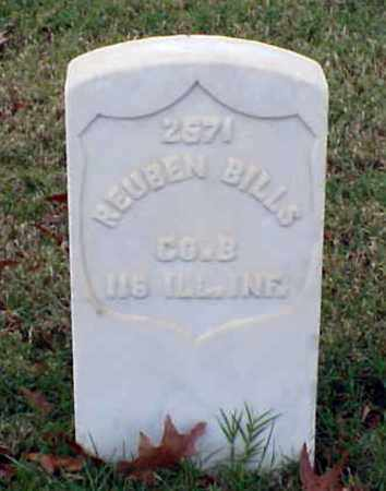 BILLS (VETERAN UNION), REUBEN - Pulaski County, Arkansas | REUBEN BILLS (VETERAN UNION) - Arkansas Gravestone Photos
