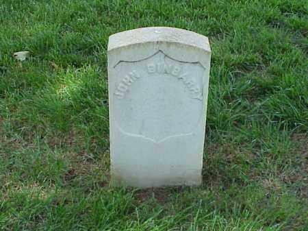 BINBARRY (VETERAN UNION), JOHN - Pulaski County, Arkansas | JOHN BINBARRY (VETERAN UNION) - Arkansas Gravestone Photos