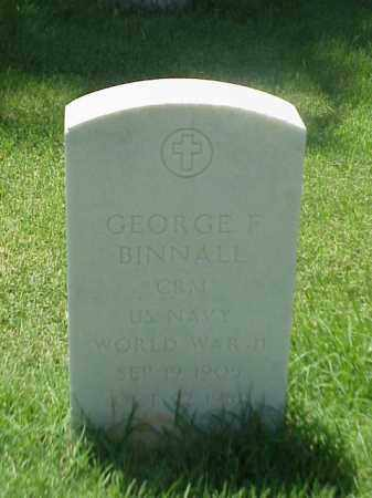BINNALL (VETERAN WWII), GEORGE F - Pulaski County, Arkansas | GEORGE F BINNALL (VETERAN WWII) - Arkansas Gravestone Photos