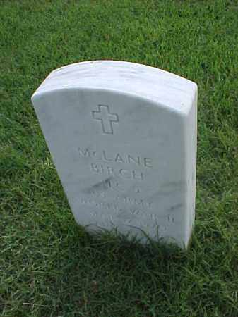 BIRCH (VETERAN WWII), MCLANE - Pulaski County, Arkansas | MCLANE BIRCH (VETERAN WWII) - Arkansas Gravestone Photos