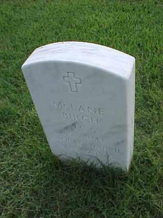 BIRCH (VETERAN WWII), MCLANE - Pulaski County, Arkansas | MCLANE BIRCH (VETERAN WWII) - Arkansas Gravestone Photos